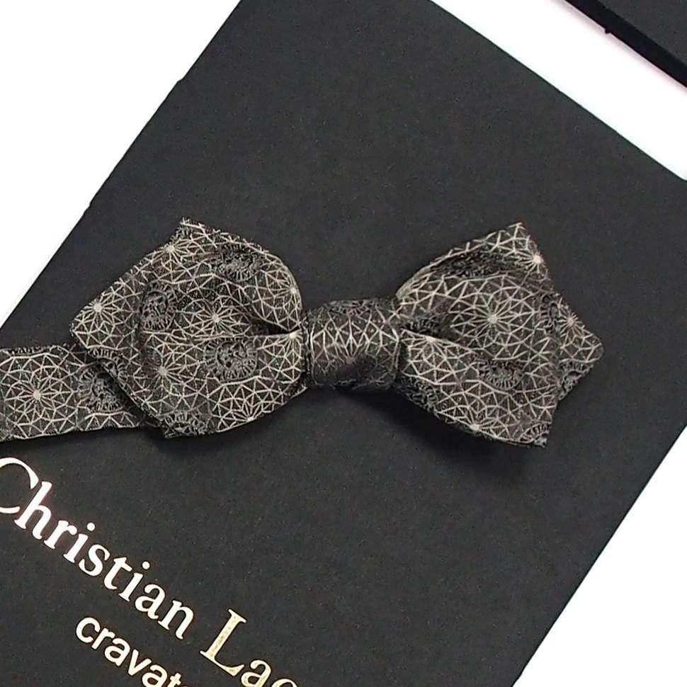 Оригинальный мужской галстук бабочка Christian Lacroix 818534