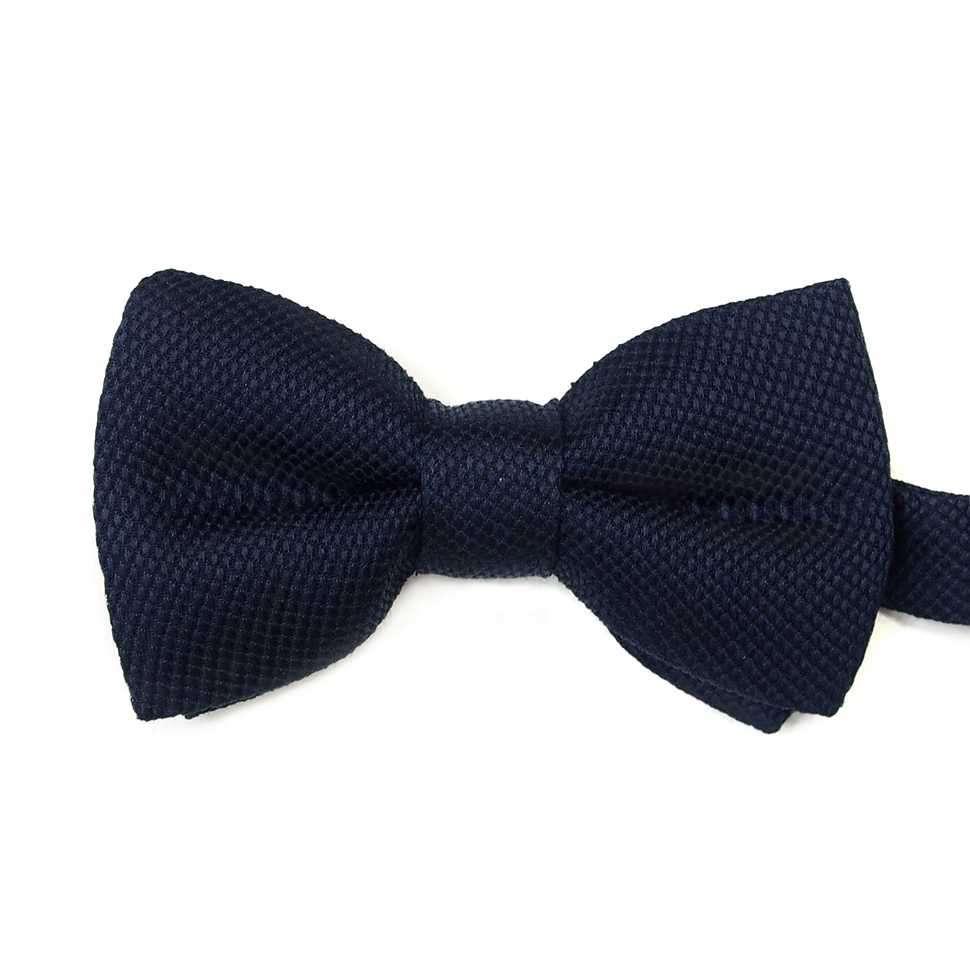 Классическая жаккардовая темно-синяя бабочка Valentino 822781
