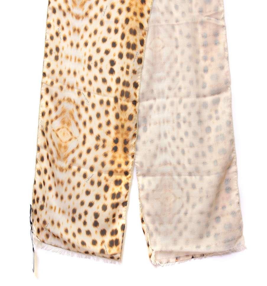 Нестандартный женский шарф Roberto Cavalli 15329