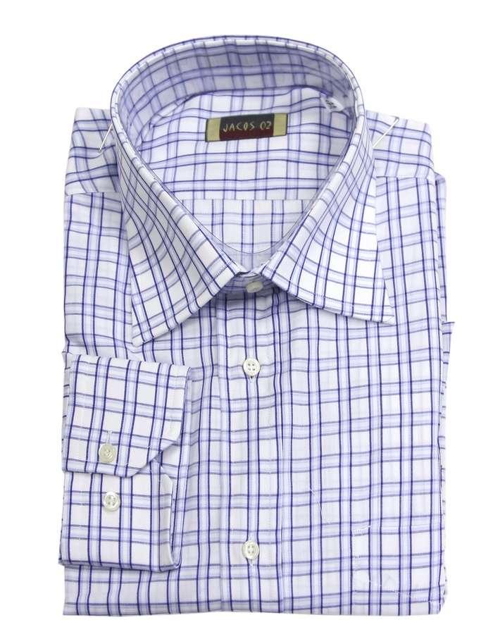 Мужская рубашка в клетку Jacos 0034