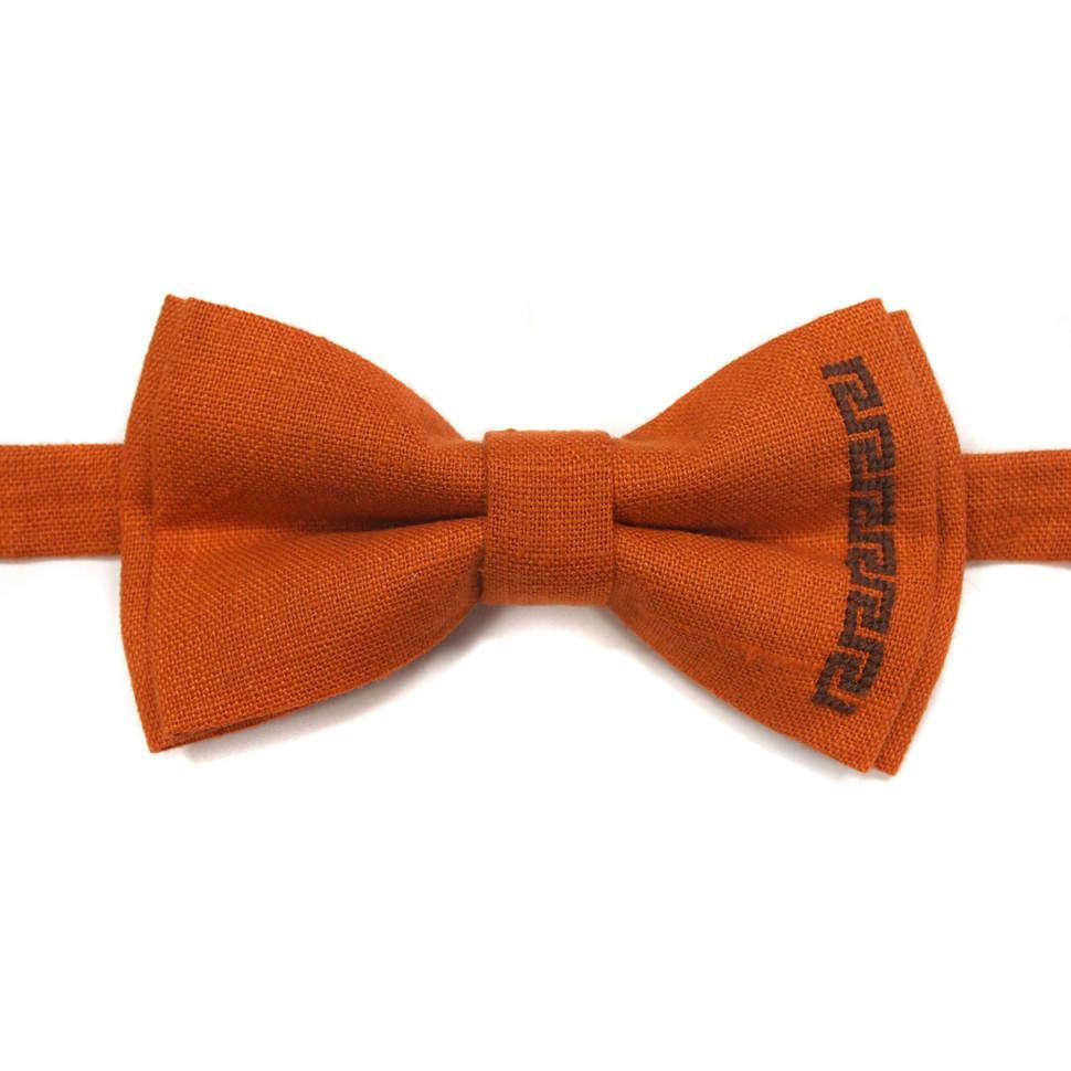 Оригинальный галстук бабочка с ручной вышивкой 814373