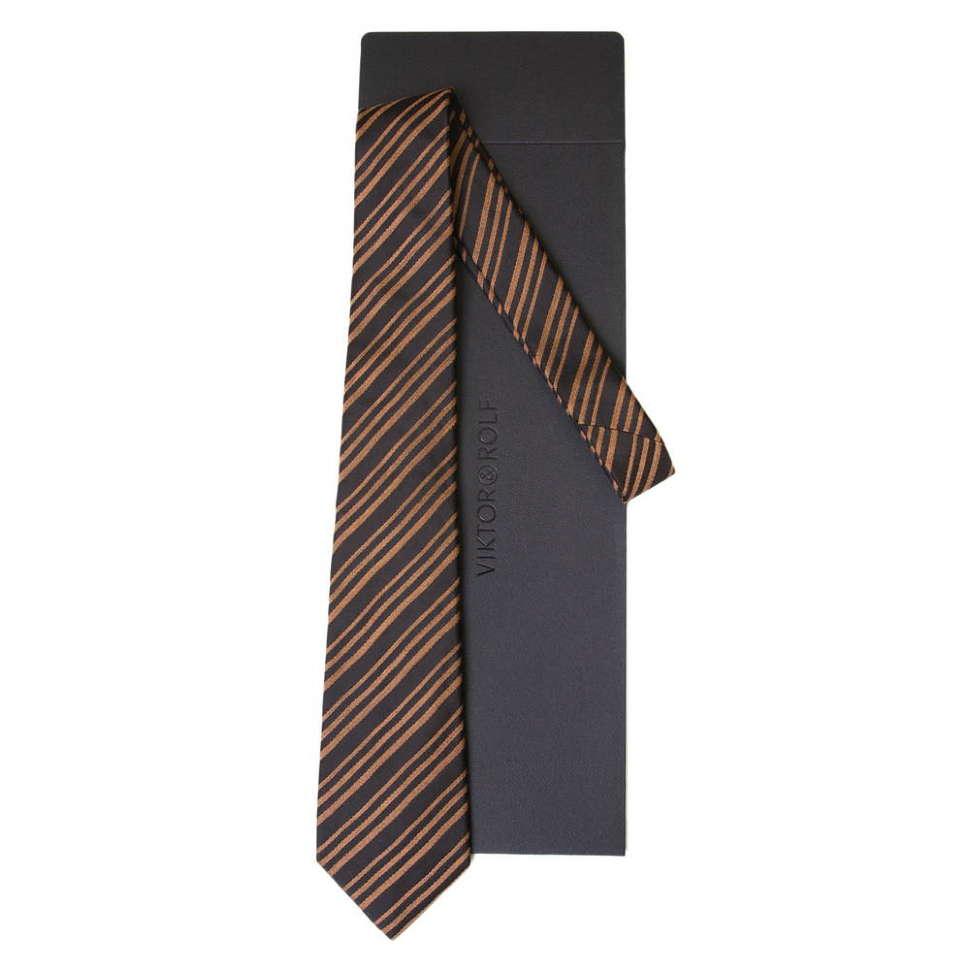 Стильный галстук в полоску Viktor Rolf 55716