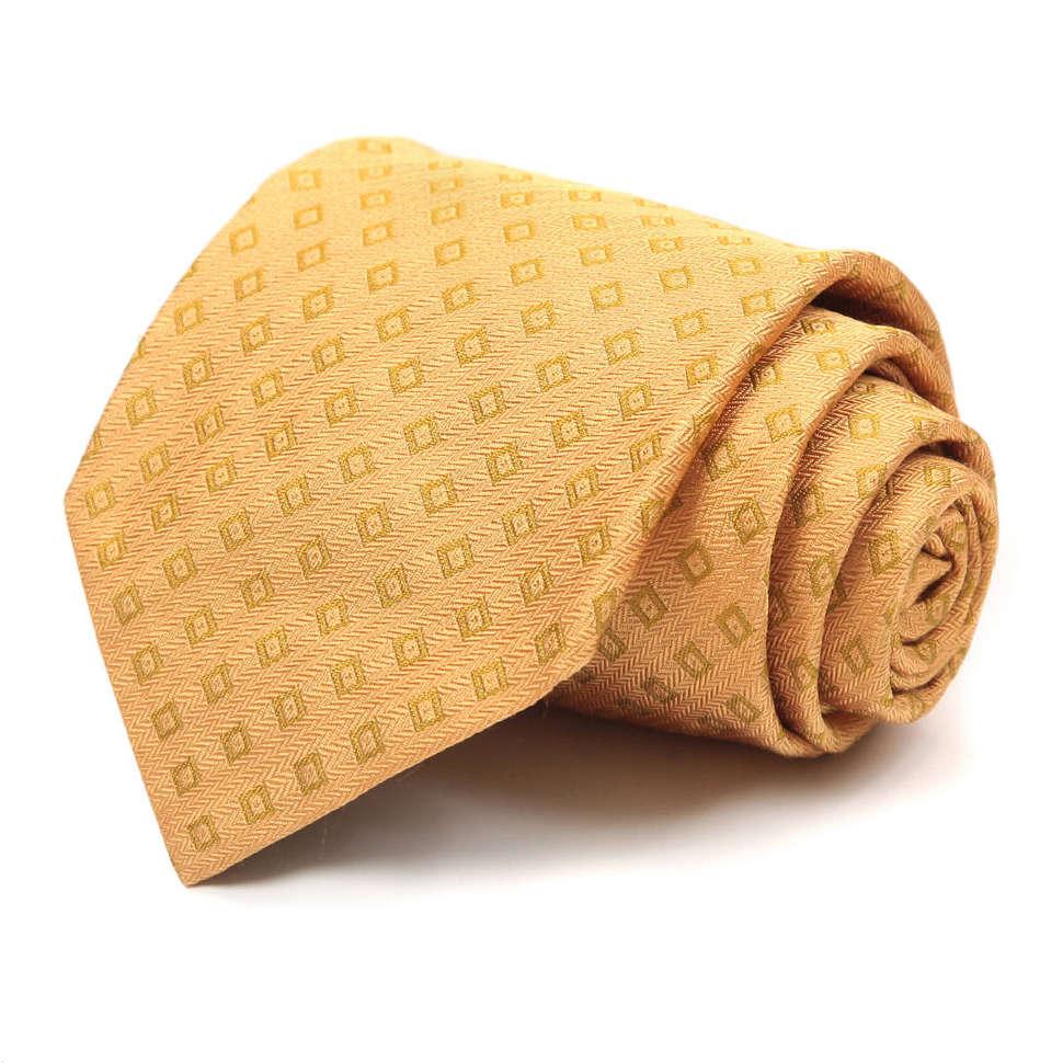 Яркий галстук с золотистым оттенком Ungaro 63448