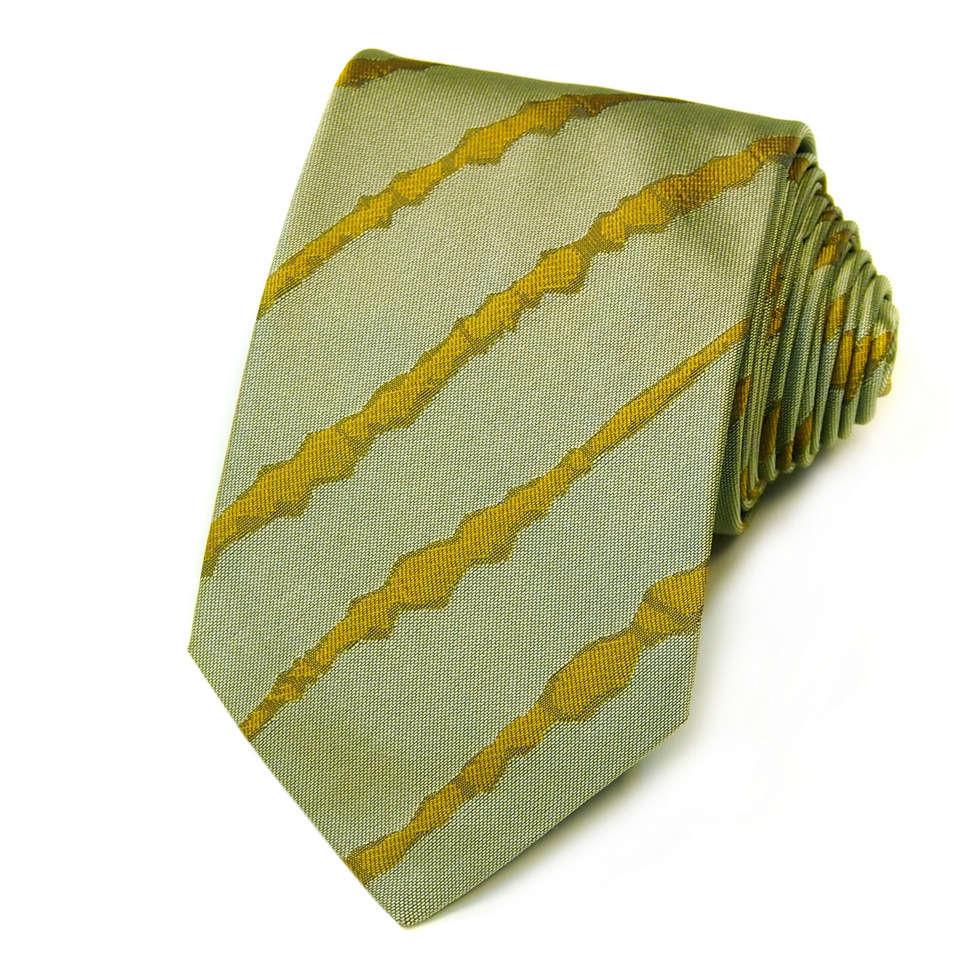 Молодежный галстук под рубашку в летних тонах Kenzo Takada 826246
