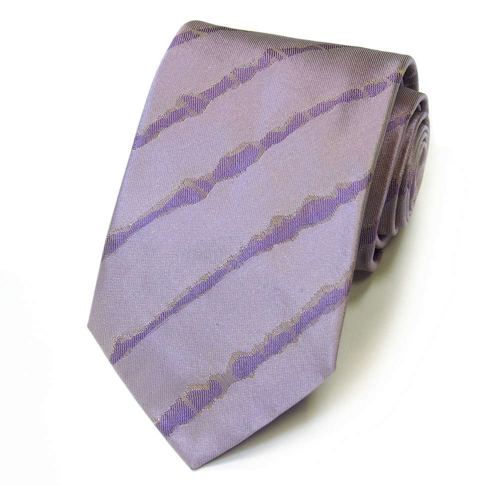 Стильный полосатый жаккардовый галстук Kenzo Takada 826268