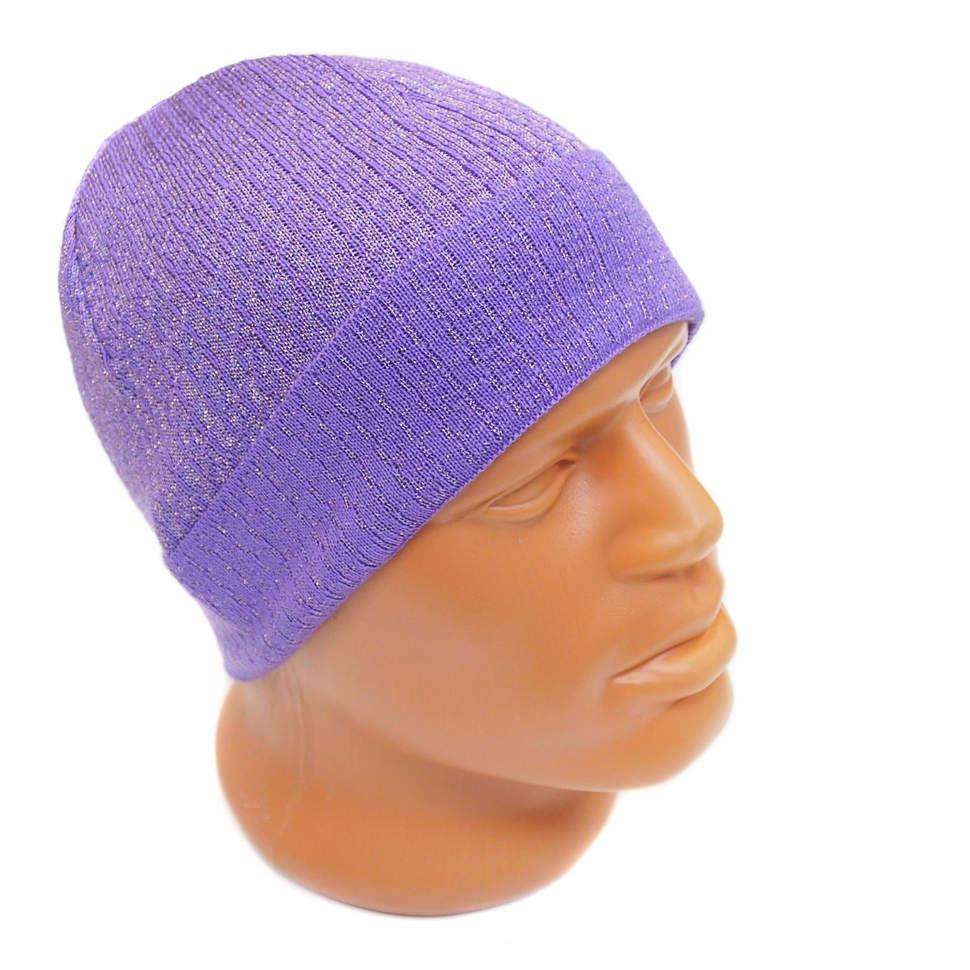 Яркая шапка с подворотом и люрексом от Roberto Cavalli 825186