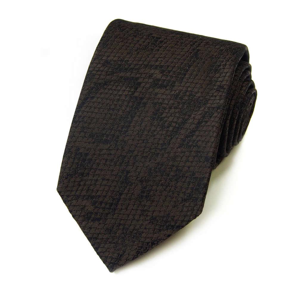 Черный зауженный галстук с оттенком Kenzo Takada 826364