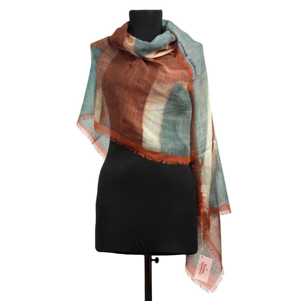 Оригинальный шарф с флагом Vivienne Westwood 65272