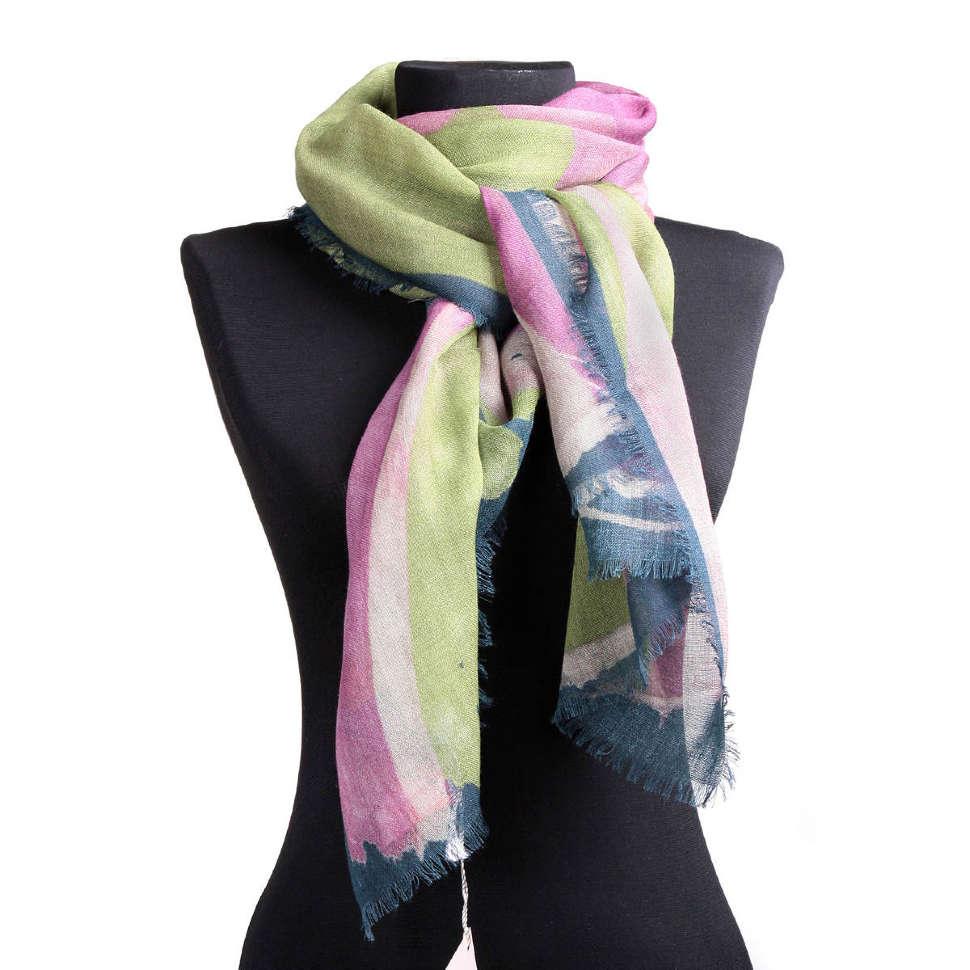 Женский палантин с нежной расцветкой Vivienne Westwood 65281