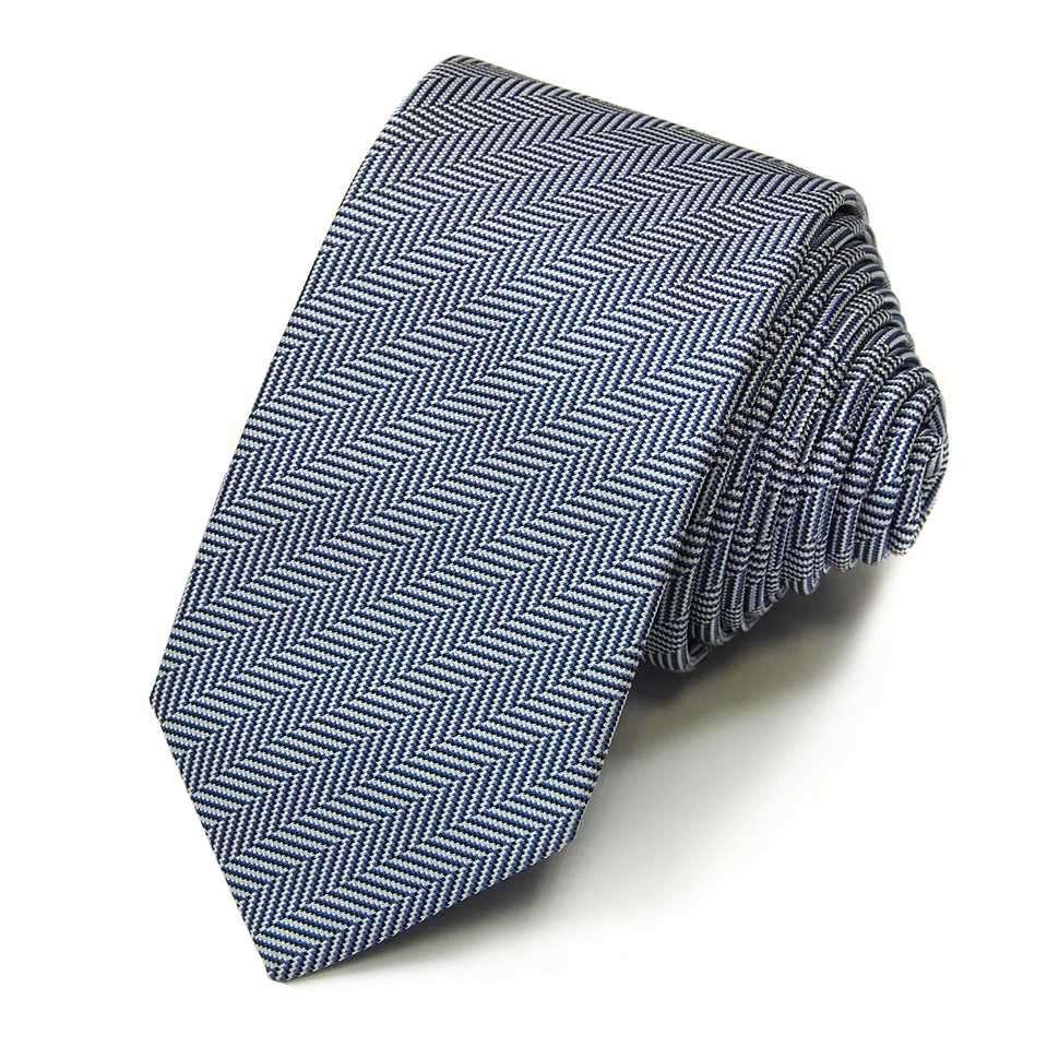 """Зауженный галстук в жаккардовую""""елочку"""" Rene Lezard 822687"""